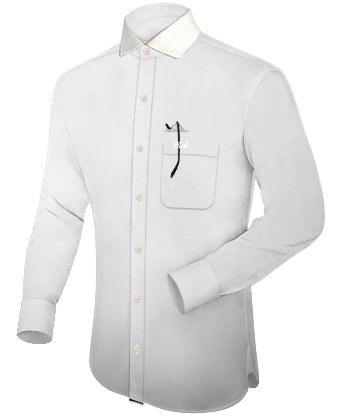 Custom Shirts with Italian Collar 1 Button