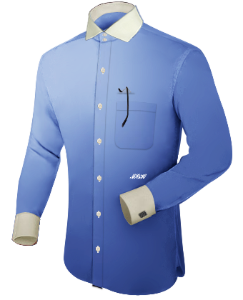 Shirtmakers with Italian Collar 2 Button