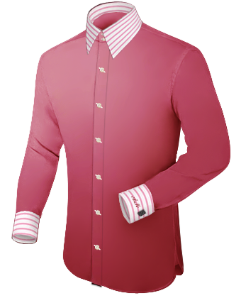 Trendyoverhemden with French Collar 2 Button
