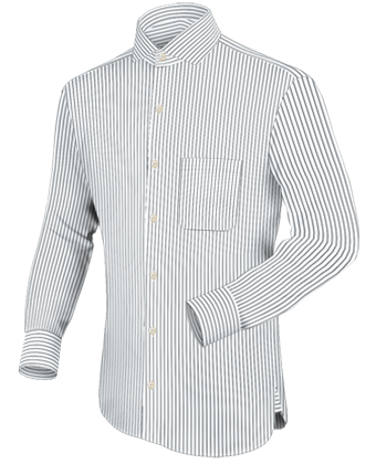 Grote Maten Kleding Online with Italian Collar 1 Button