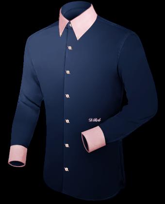 Zijde Overhemden with Button Down