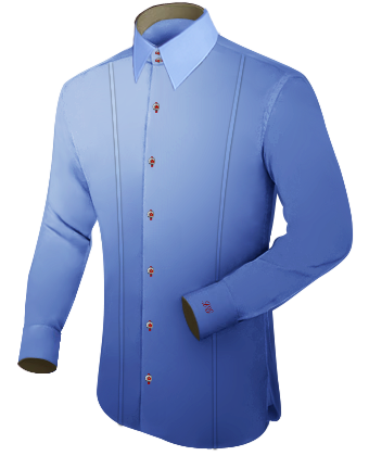 3xl Overhemden with French Collar 2 Button