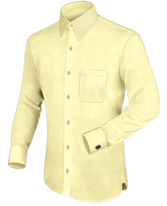 Alternatieve Mannenkleding Patronen with French Collar 1 Button