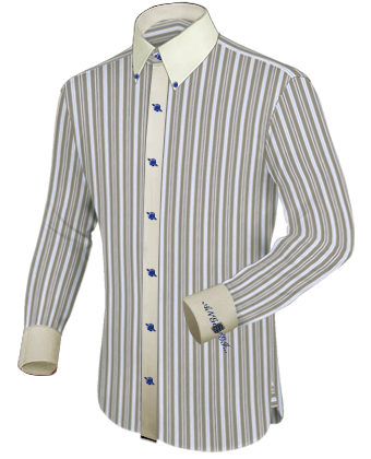 Basic Overhemd with Button Down
