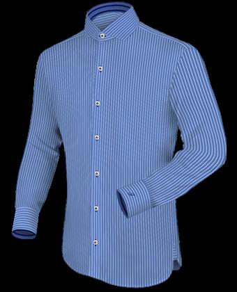 Beige Overhemd Maat 146 152 with English Collar