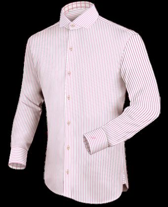 Belgie Overhemd with Italian Collar 2 Button