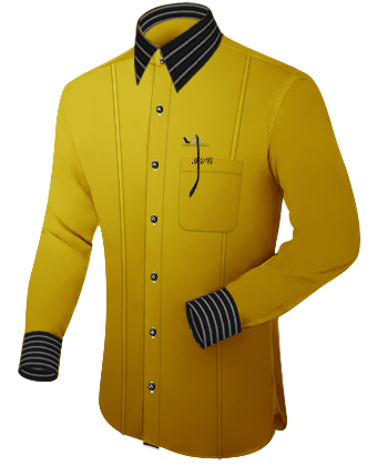Breda Overhemd with French Collar 2 Button