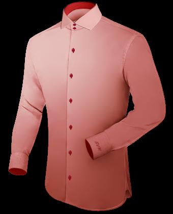 Cre�er Je Eigen Overhemd with Italian Collar 2 Button