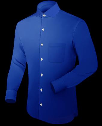 Hemden with Italian Collar 1 Button