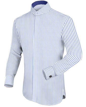 Bordeaux Overhemd with French Collar 2 Button