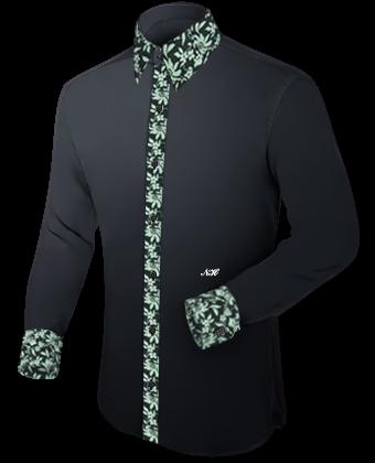 Boston Overhemden with French Collar 1 Button
