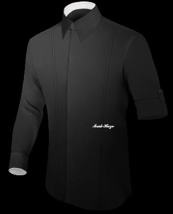 Bruine Overhemden with Button Down
