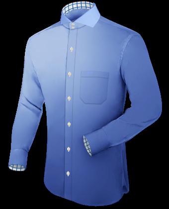Chique Overhemd Jongen with Cut Away 2 Button