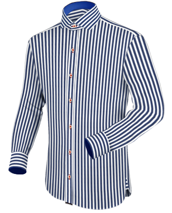 Herenmode Grote Maten with Italian Collar 1 Button