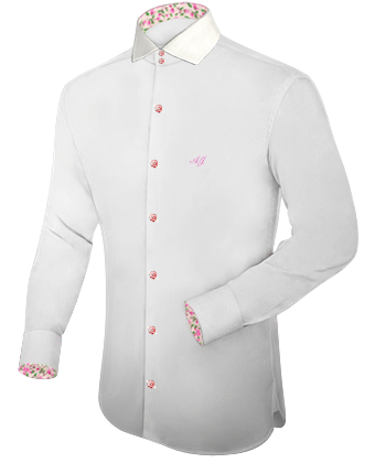 Custommade Shirts with Italian Collar 2 Button